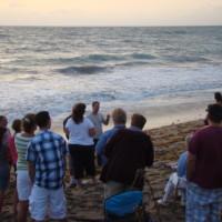 Easter Sunrise Service on the beach