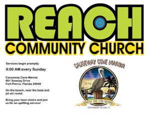Logo Reach Church at Causeway Cove
