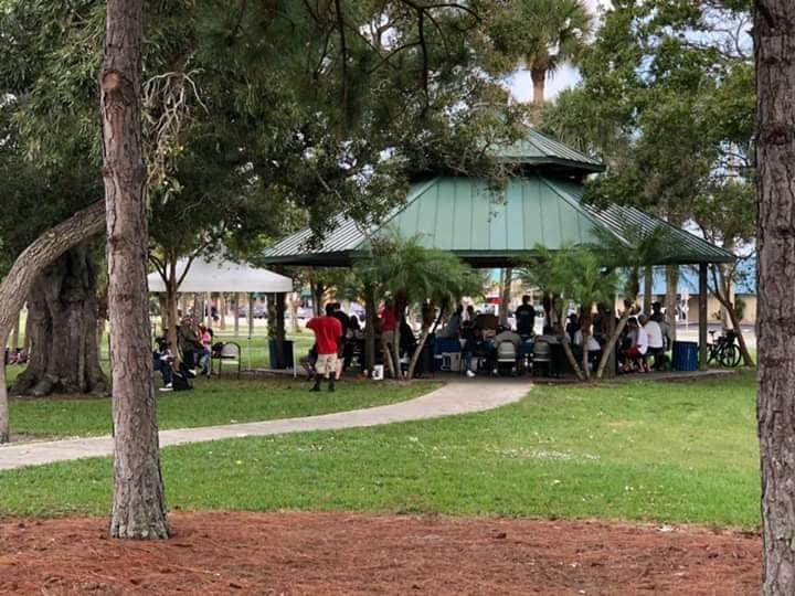 Picture of park pavilion
